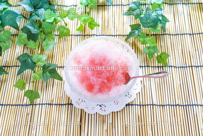 かき氷の販売画像