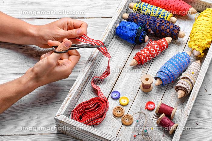 糸 手作り 刺繍の販売画像