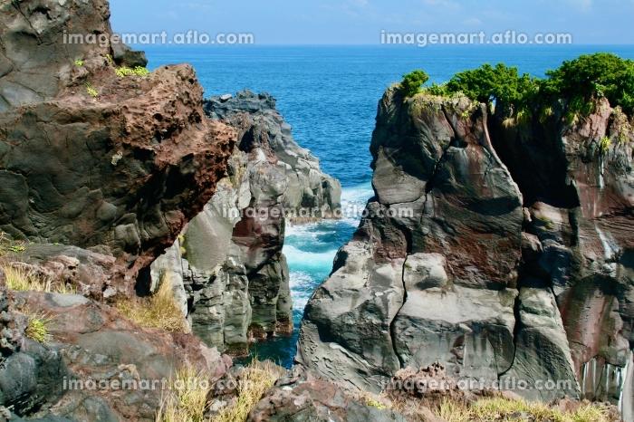 断崖,絶壁,海,静岡,Shizuoka,伊東市,Itoshi,Itocityの販売画像