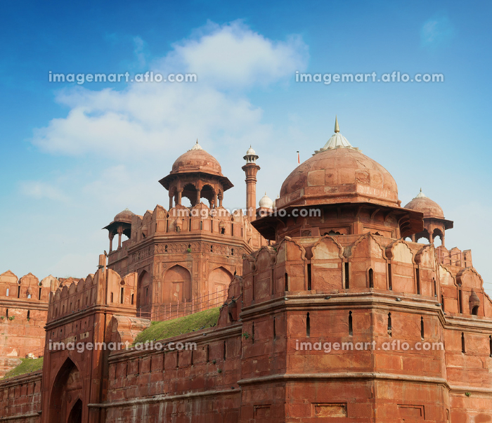 The Red Fort outside viewの販売画像