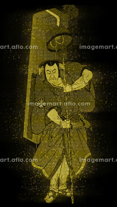 浮世絵 歌舞伎役者 その39 ホログラムバージョンの販売画像