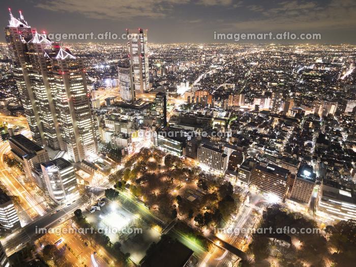 新宿の夜景の販売画像