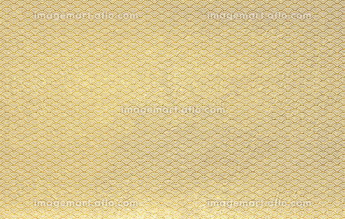 背景素材 金色白混麻混和紙 和風 4483の販売画像