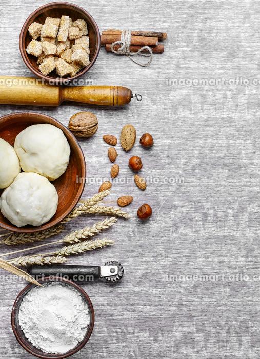 小麦 小麦粉 準備の販売画像