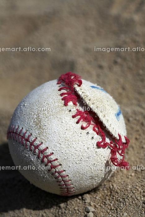 壊れた野球ボールの販売画像