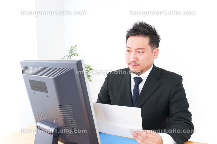 サラリーマン・会社員・社長・オフィスの販売画像