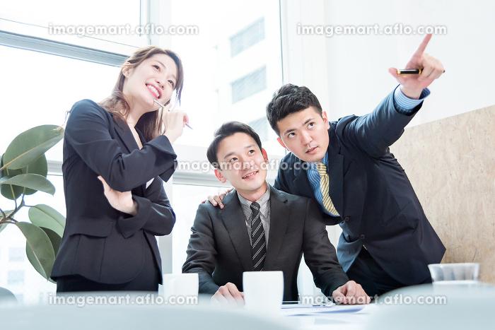 ビジネス状況・3名・目標と成功の販売画像