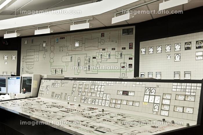 Control panel in power plantの販売画像