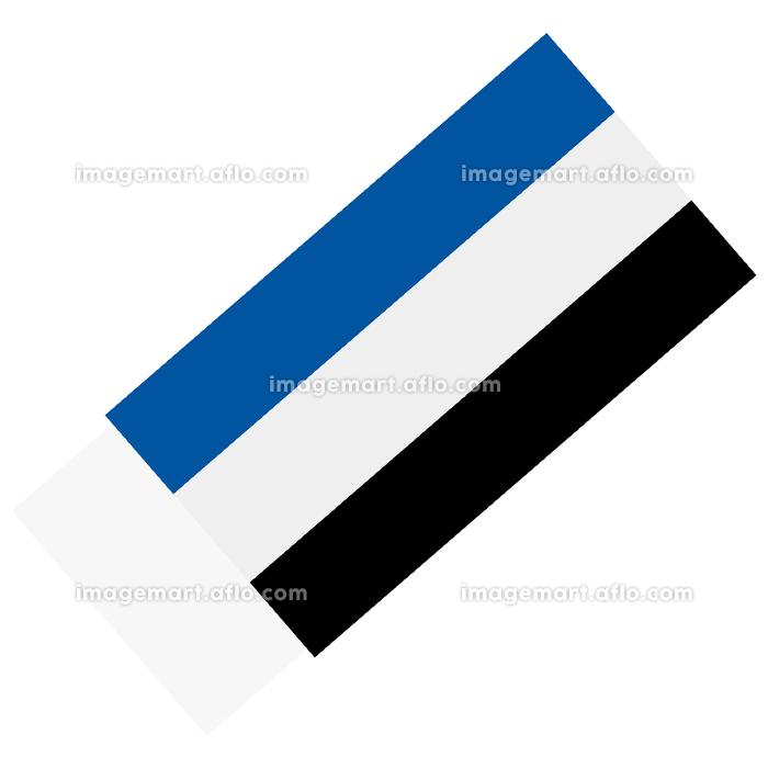 イラスト素材 消しゴム けしゴム イレーサー 文房具 筆記用具 ベクターの販売画像