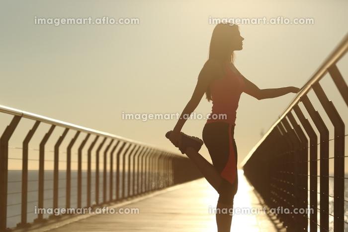 横顔 楽 足の販売画像
