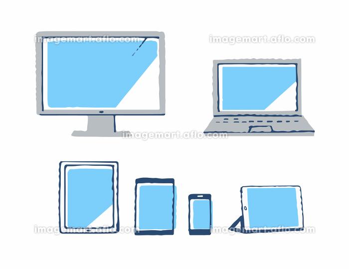様々な種類のデバイスの販売画像
