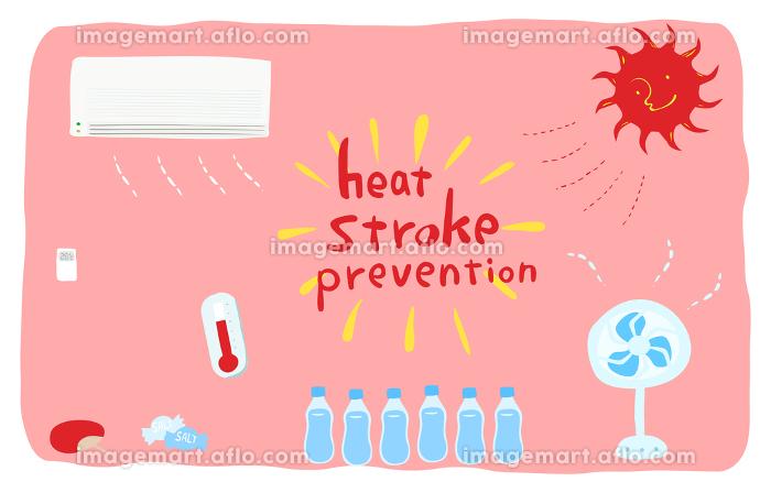熱中症対策のセット 空調と水分・塩分摂取の販売画像
