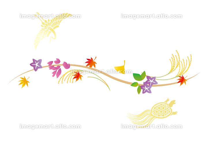 秋 敬老の日のイメージ背景の販売画像