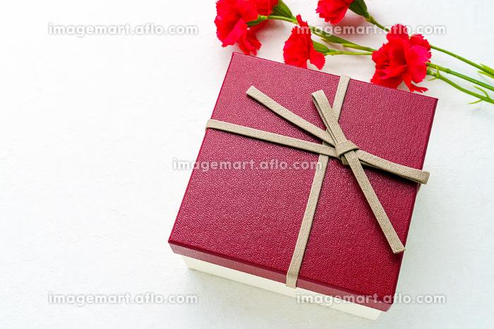 母の日 カーネーションとプレゼントの販売画像