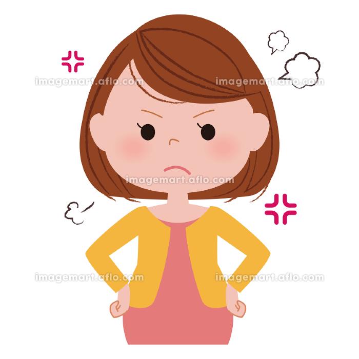 妊婦 怒りの販売画像