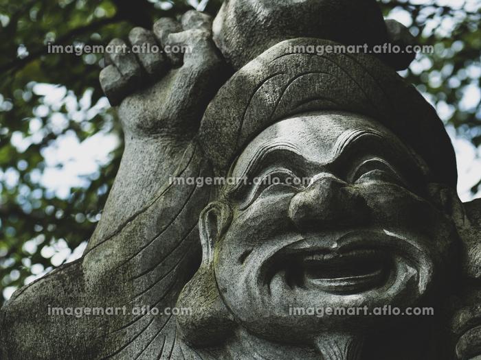 大黒天様の石像の販売画像