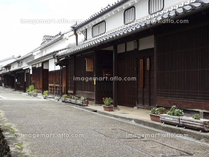 重要伝統的建造物群保存地区今井町の家並みの販売画像