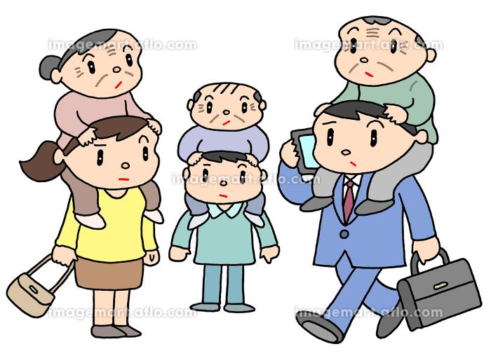 少子高齢化問題の販売画像