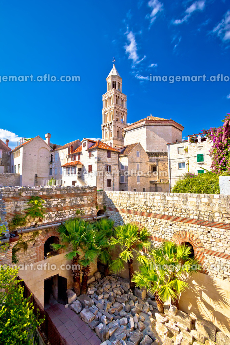 Split historic architecture of Diocletian's palaceの販売画像