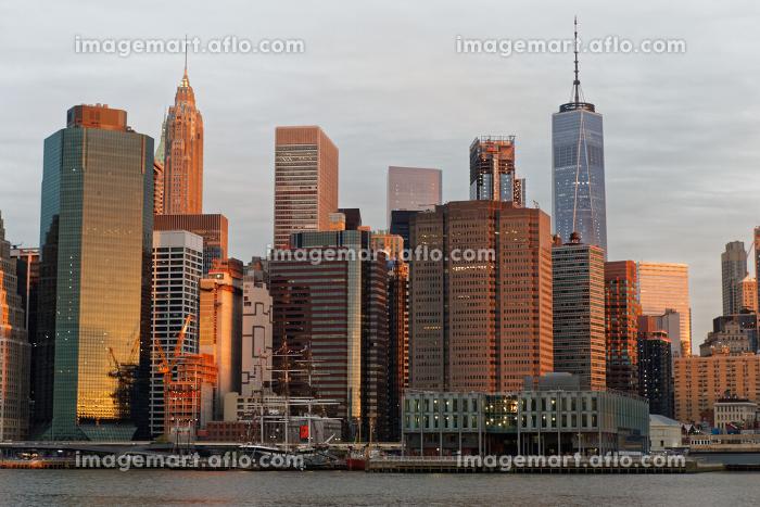 ニューヨーク マンハッタン スカイライン ローワーの販売画像