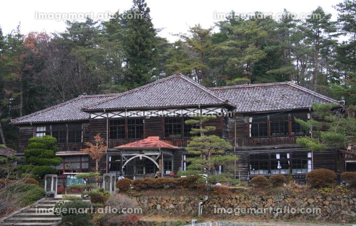 吹屋(重伝建)の旧吹屋小学校(2011年撮影、2012年閉校)の販売画像