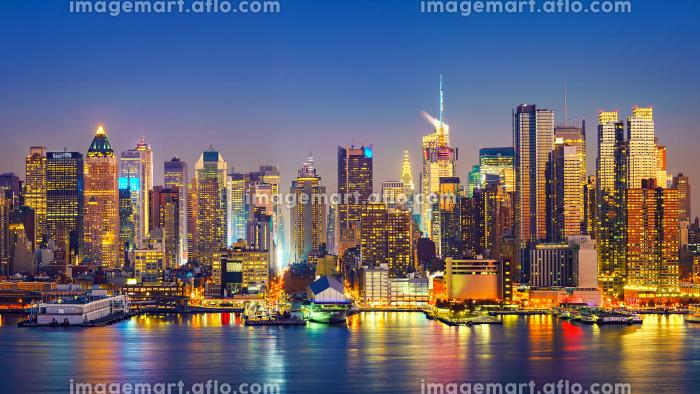 Manhattan after sunsetの販売画像