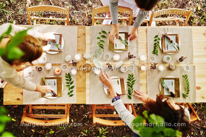 Serving festive tableの販売画像