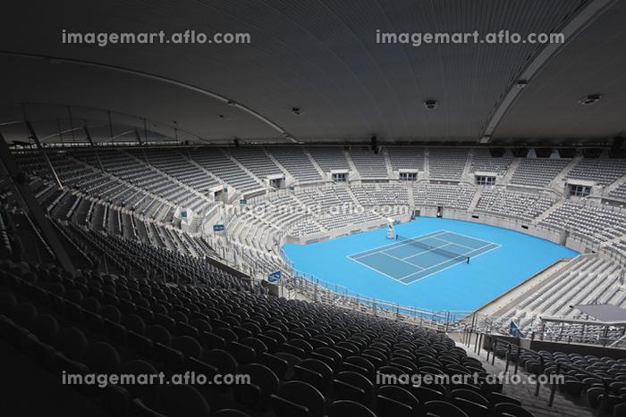 テニスコートの販売画像