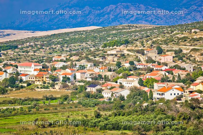 クロアチア 島 山の販売画像