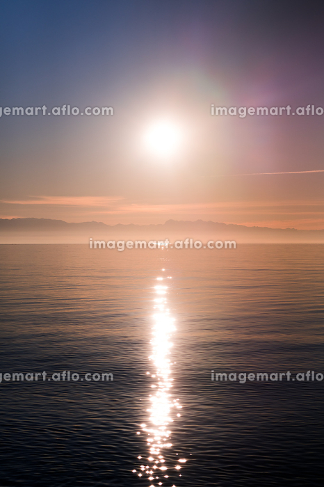 Sunset over Puget Sound from Deception Pass State Parkの販売画像
