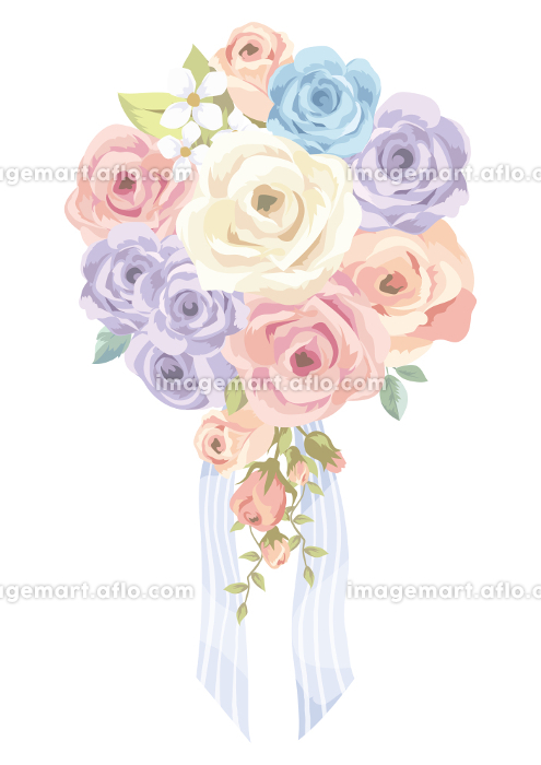 バラの花束の販売画像