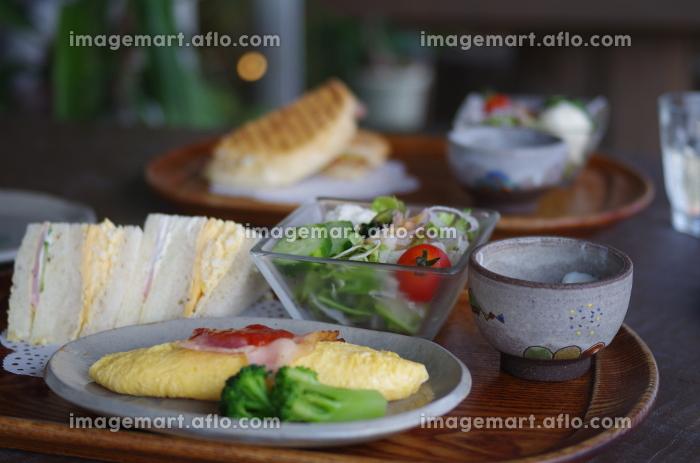 モーニング 朝食の販売画像