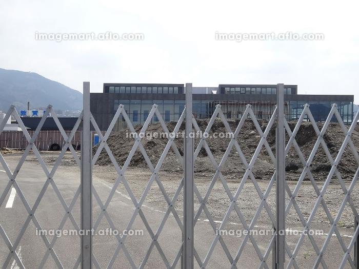建築用地の柵