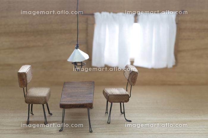 ミニチュア風のジオラマのインテリアの販売画像