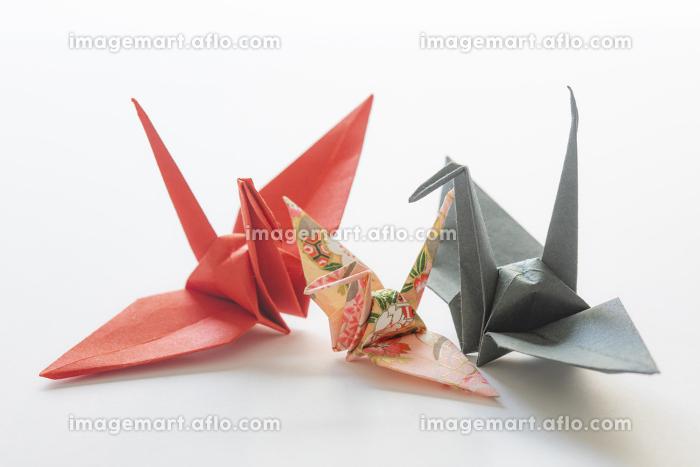 折り鶴の親子