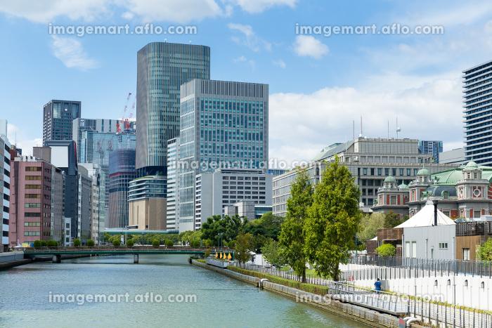 Osaka downtown skylineの販売画像