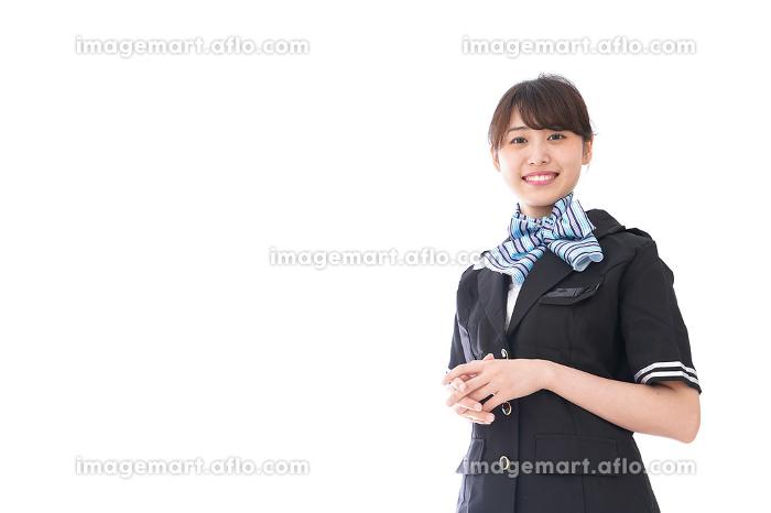 笑顔のキャビンアテンダントの販売画像