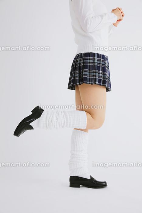 制服の足元