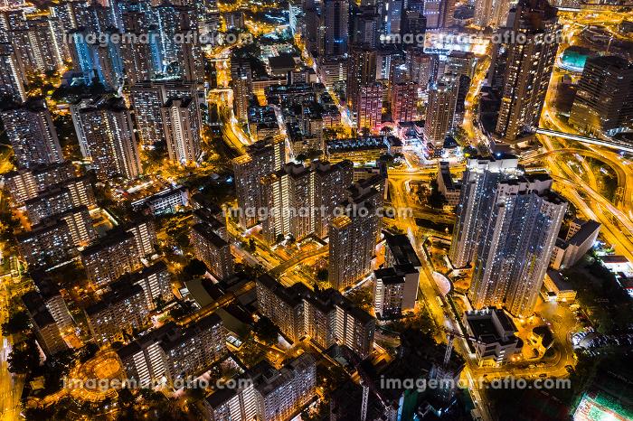 Kowloon city, Hong Kong 24 September 2018:- Hong Kong residential district