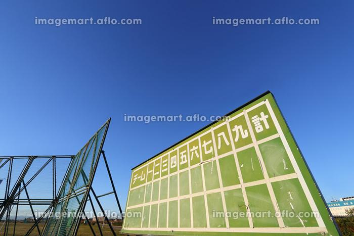 野球場の得点板の販売画像