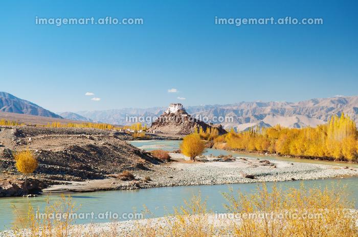 Stakna monastery,Leh, Ladakh, Jammu and Kashmir, India.の販売画像