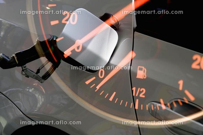 ガソリンスタンド合成の販売画像