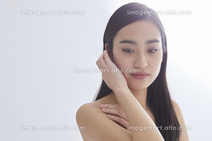 日本人女性のビューティーイメージの販売画像