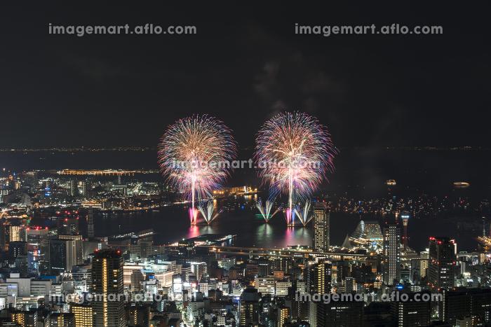 みなとこうべ海上花火大会。兵庫県神戸市の花火大会。の販売画像