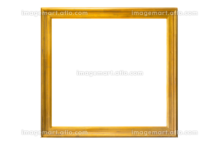 絵画の額(白背景)の販売画像