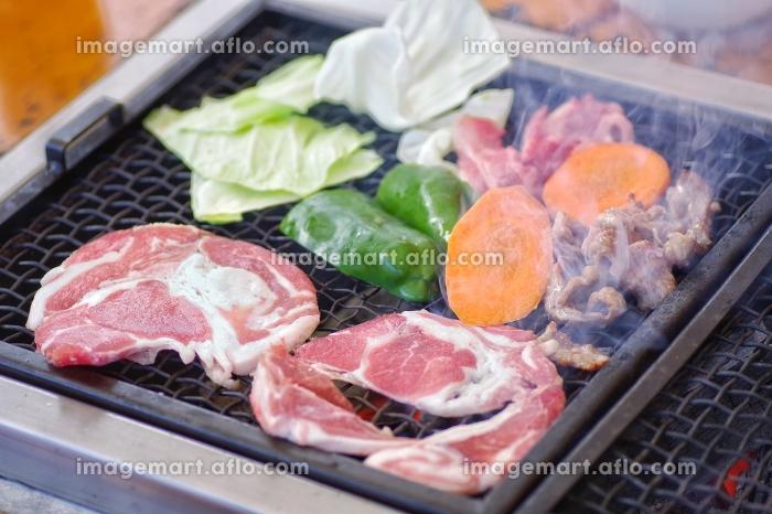 バーベキュー お肉と野菜の販売画像