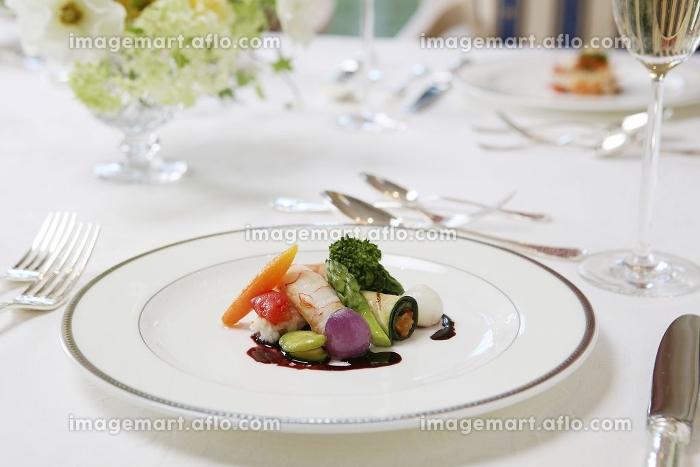 フランス料理前菜の販売画像