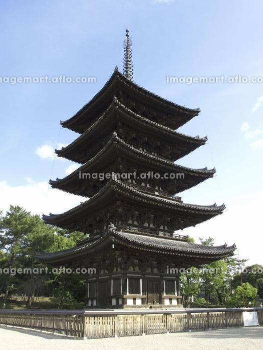 世界遺産の興福寺五重塔の販売画像