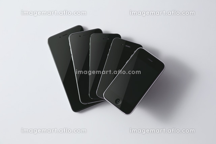 iPhoneのサイズ比較