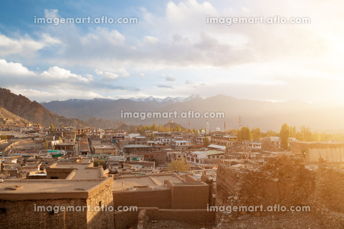 Leh city in northen Indiaの販売画像